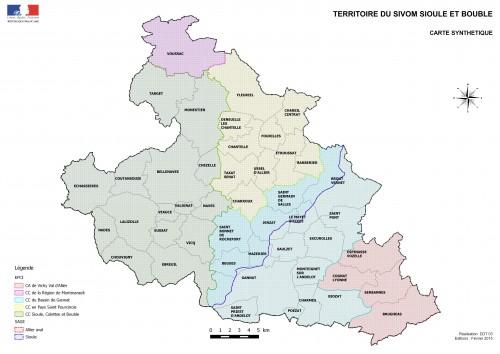 Territoire du Sivom de Sioule et Bouble
